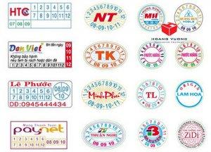 các loại tem bảo hành