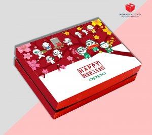Mẫu hộp quà tết 2020