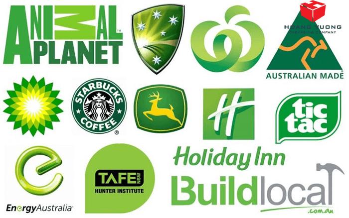 ý nghĩa màu xanh lá cây trong thiết kế